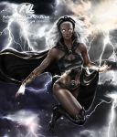 Storm MARVEL Commission by MLauviah
