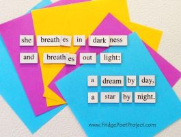 The Daily Magnet #154 by FridgePoetProject