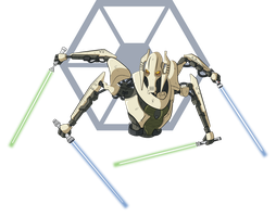 STAR WARS - General Grievous (episode III) by GabKT
