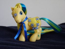 custom mlp merry go round style G3 Forget me not 2 by thebluemaiden