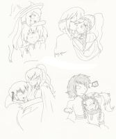 Doodle-Some favorite shippy things by Creamecream