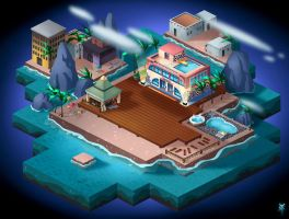 Pool World Champ: Caiman Islands by TheRagingSpaniard
