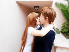 Zetsuen No Tempest: Yoshino x Aika by Smexy-Boy