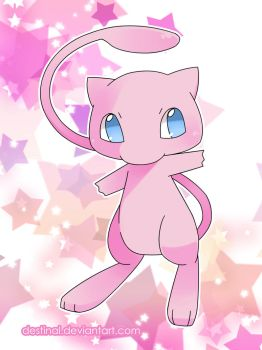 Mew by Crystal-Ribbon