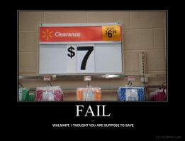 Walmart Fail by redsnowkiss