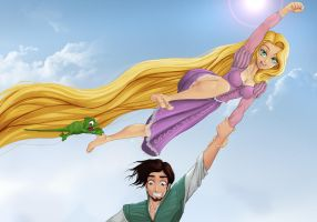 Super Rapunzel by xplotter