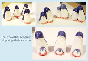 FanExpo 2010 - Penguins - SOLD OUT by Bittythings