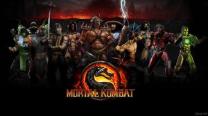 Mortal Kombat 2011 Wallpaper by Sakis25