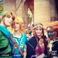 Zelda Cosplay Group by Laovaan