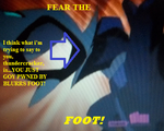 Fear The Foot by mystic-pikachu