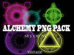 Alchemy-PNG version pack by Psycho--Princess