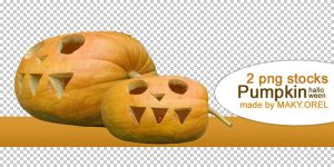 PNG STOCK SET: Pumpkin (special for Halloween) by MAKY-OREL
