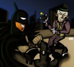 AT: Batman V. Joker by Aeon-Borealis