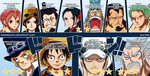One Piece 746:Wanted ranks ! by Shinsekai94