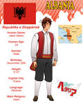 Hetalia  Albania Profile By Melonstyle-d71lj82 by melonstyle