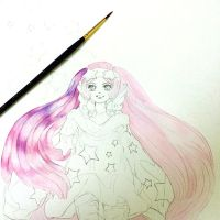 wip watercolor by Lovepeace-S
