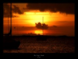 Key Largo Sunset by the-toad