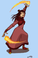 Original Fire Nation chick by kartos