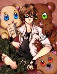 Reading glasses and teddy bears by pink-pinguin