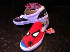 Spiderman Venom Vans 4 by VeryBadThing
