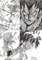 The best fights in fairy tail manga 8 by DevilishMirajane