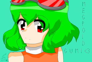 Megpoid Gumi by cottoncandyFRIZZ