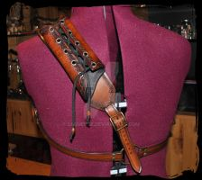 leather back scabbard by Lagueuse