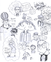 HA! and LwtS Doodles by SuprSingr