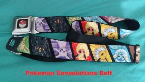 Pokemon Eeeveelutions belt by Vesperwolfy87