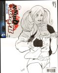 Sketch cover Harley Quinn by TeamAmazing
