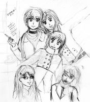 My friends and me xD by NihalDarko