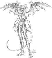 Cassandra The Succubus by staino