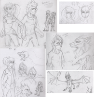 Sketch Page 2 by Zolarise