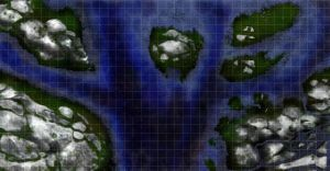 Waters: A Map by crowzcradle