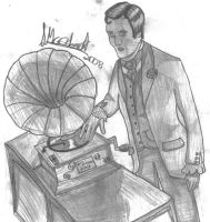Vince as a victorian DJ by marballz
