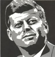 JFK BW by Sids-Place