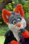 Slushie being all cute by FurryFursuitMaker