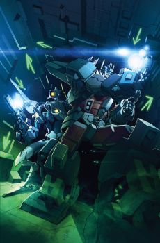 TF Dark Cybertron #7 cover colors by khaamar