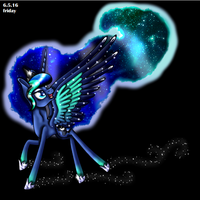Rainbow Power Princess Luna by InspiredPixels