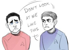 almost human x star trek by Kethavel