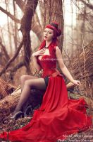_Red diamond. by Bloddroppe