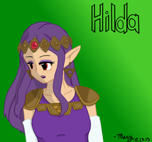 Hilda of Lorule by MelodicMarzipan