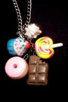 Sweet Treats Necklace by CocoaDoll