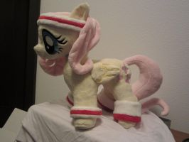 My little pony Hurricane Fluttershy plush by Little-Broy-Peep