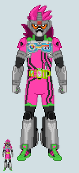 Toku sprite - Ex-Aid (Adapter Action Gamer Lv.5) by Malunis