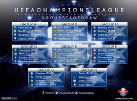 UEFA CHAMPIONS LEAGUE GROUP by MDesign999