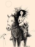 Witcher On A Horse 2 by namelessone69