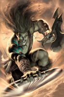 Skaar: Son of Hulk 10 by AlexGarner