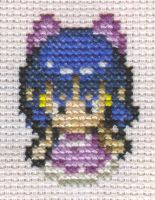 X-Stitch Fanart- Contest Dawn by missy-tannenbaum