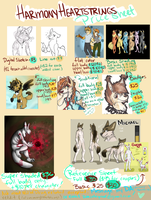 Holy Love of God A PRICE SHEET!! [huge file] by harmony-heartstrings